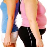 dos-mujeres-espalda-contra-espalda-una-obesa-y-otra-delgada