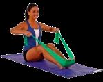 una-mujer-hace-ejercicios-de-pilates-con-bandas